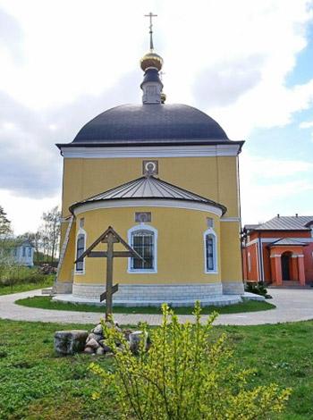 Церковь Николая Чудотворца - Луцино